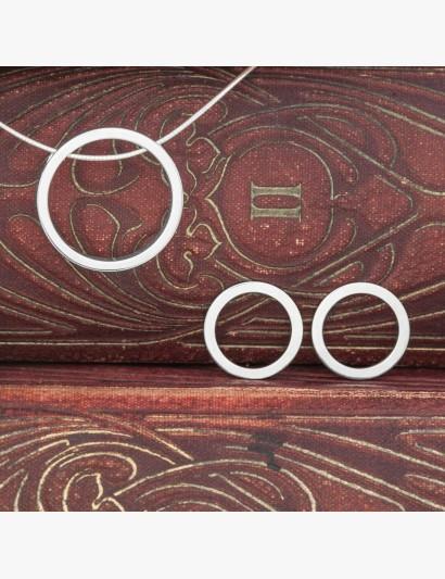 Set: Anhänger & passenden Ohrringen