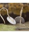 Ohrhänger mit Struktur