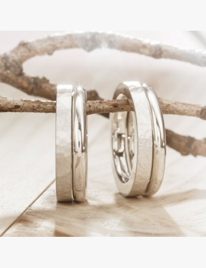 Ringe im Set - Beide Varianten