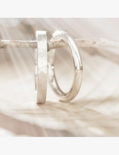 Ringe im Set - klassisch geschmiedet