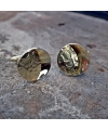 Manschettenknöpfe aus strukturiertem Gold