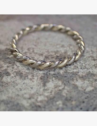 Gekordelter 2farbiger Ring