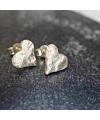 Herz-Ohrringe