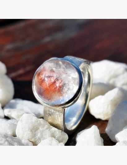 Ring mit Quarz