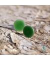 les petits points - grasgrün