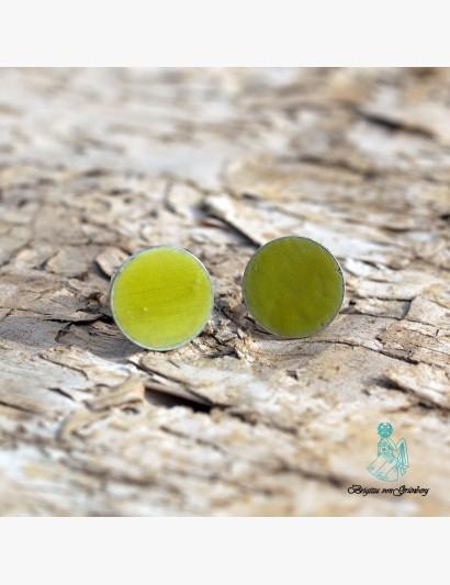 les petits points - gelbgrün