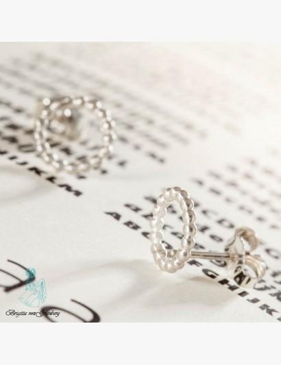 Ohrringe aus Kugeldraht