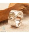 Ring mit Rutil-Quarz