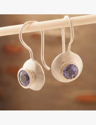 Ohrringe mit Tansanit