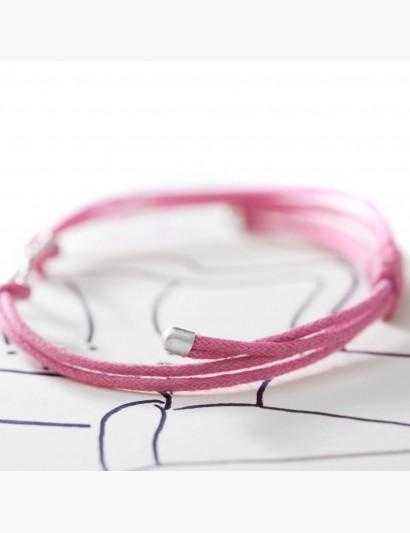 Makramee-Armband Unendlichkeit